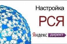 Рекламная кампания в РСЯ Яндекс. Директ на 50 ключей + ведение 30 дней 14 - kwork.ru