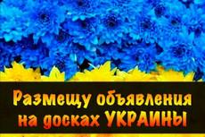 Вручную размещу Ваше объявление на 30 популярных досках Украины 6 - kwork.ru