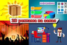 Анимационный рекламный видеоролик 8 - kwork.ru
