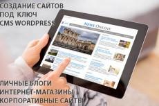 Установлю CMS WordPress 6 - kwork.ru