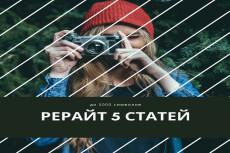 Сделаю рерайт статей для блога 11 - kwork.ru