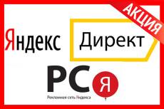 Создам РСЯ в Яндекс. Директ. Рекламная кампания на 5 объявлений 41 - kwork.ru