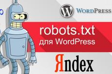 Подготовка к продвижению сайтов на Wordpress 12 - kwork.ru