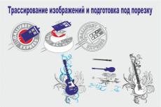 Сделаю макет поклейки для витрины 9 - kwork.ru