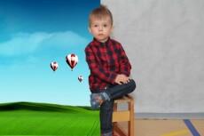 Улучшу цветовую гамму вашей фотографии, поменяю фон и все работы по фотографии 10 - kwork.ru