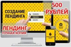 Сделаю копию лендинга 13 - kwork.ru