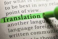 Перевод текста, аудио или видео на английский и славянские языки 15 - kwork.ru