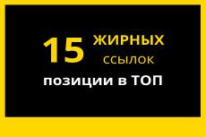 Вывод в ТОП Google. 30 вечных ссылок с PR9 15 - kwork.ru