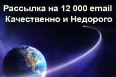Отправлю ваше письмо на 150 e-mail вручную 16 - kwork.ru