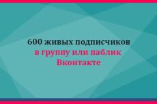 600 живых подписчиков Вк вступят в вашу группу или паблик Вконтакте 13 - kwork.ru