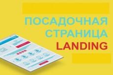 Адаптивный лендинг 11 - kwork.ru