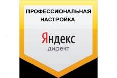 Поиск + РСЯ + Ретаргетинг настройка контекстной рекламы Яндекс.Директ 3 - kwork.ru