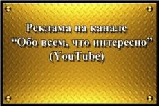Размещу до 5 ваших ссылок на видео с Ютуба на своем сайте 8 - kwork.ru