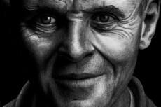 Простой карандаш и краски, портрет по Вашему фото 14 - kwork.ru