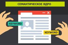 Семантическое ядро (СЯ) сайта 500 ключей c расчётом KEI 13 - kwork.ru