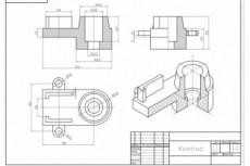 Выполню задачи по инженерной графике в Autocad/Компас 10 - kwork.ru