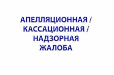Жалоба для обжалования решения суда 20 - kwork.ru