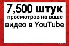 Добавлю 5000 просмотров на ваш видео Youtube 21 - kwork.ru