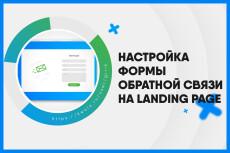 Настройка формы обратной связи Landing page 12 - kwork.ru