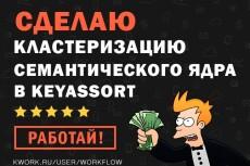 Выгрузка рекламной кампании конкурентов в Яндекс.Директ 4 - kwork.ru