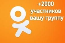 200 участников в facebook на фан-страничку 3 - kwork.ru