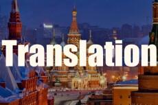Переведу с английского на русский язык 6 - kwork.ru