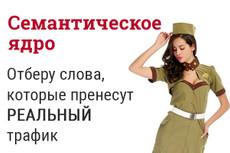 Все важные данные 30-ти конкурентов из Keys.so + бонус 16 - kwork.ru