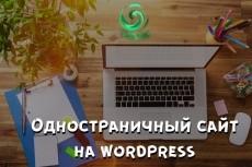Создам лендинг на wordpress 23 - kwork.ru