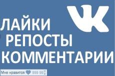 1000 качественных лайков ВКонтакте, лайки на посты, фото, комментарии 4 - kwork.ru