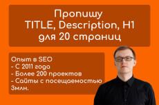Внутренняя SEO оптимизация сайта 26 - kwork.ru