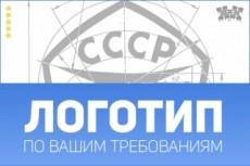 Переведу ваш логотип из растра в вектор 15 - kwork.ru