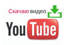 Скачаю видео с YouTube 3 - kwork.ru