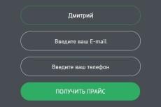 Настрою, Поправлю, Создам форму обратной связи 25 - kwork.ru