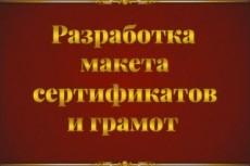 Разработаю макет грамоты, диплома, благодарственного письма 10 - kwork.ru