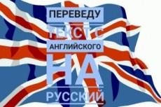 Переведу текст с английского языка на русский 16 - kwork.ru