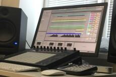Сведение аудио трека, аудио материала 9 - kwork.ru