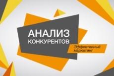Анализ конкурентов+поисковые запросы и объявления конкурентов 20 - kwork.ru