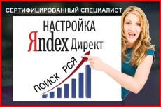 Ведение кампании в Яндекс Директ или РСЯ 20 - kwork.ru