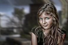 Обработка Фотошоп, прорисовка и дизайн 7 - kwork.ru