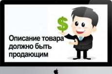 Описание товаров для интернет-магазинов 10 - kwork.ru