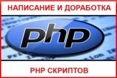 Напишу скрипт php, js 3 - kwork.ru