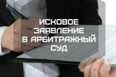 Составлю исковое заявление и любой судебный документ 22 - kwork.ru