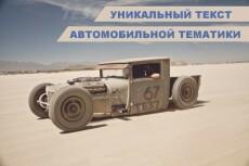 Напишу интересные статьи на автомобильную тему 5 - kwork.ru