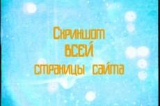 Скриншот всей страницы сайта целиком 12 - kwork.ru