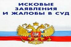 Составление искового заявления 12 - kwork.ru