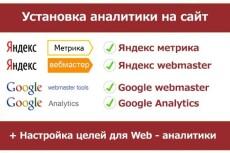 Установлю Яндекс.Метрику 13 - kwork.ru
