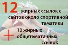 Размещу 13 вечных жирных ссылок на Ваш сайт 3 - kwork.ru