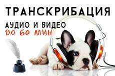 Перевод из аудио, видео в текст - 50 минут. Транскрибация 20 - kwork.ru