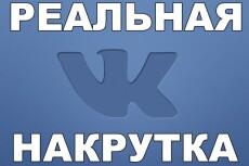 Накручу 500 подписчиков в вк 4 - kwork.ru