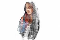 сделаю полигональный портрет 9 - kwork.ru